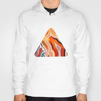 The Vivid Imagination of Nature, Layers of Agate Hoody
