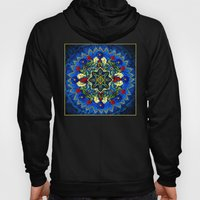 Lighted Rose Window Coll… Hoody