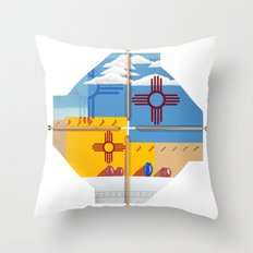 Altered State: NM Throw Pillow