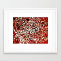 No. 8 Framed Art Print