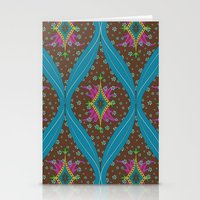 teardrop pattern Stationery Cards