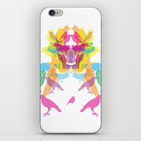 The Bird Face iPhone & iPod Skin