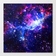 Canvas Print featuring Galaxy by Matt Borchert