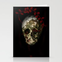 Skull#01 Stationery Cards
