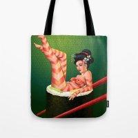 Sushi Girl Tote Bag