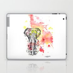 Elephant in a Splash of Color Painting Laptop & iPad Skin