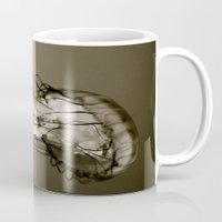 Jellyfish B&W Mug