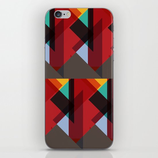 Crazy Abstract Stuff iPhone & iPod Skin