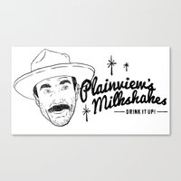 Plainview's Milkshakes Canvas Print