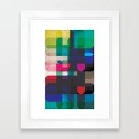 Circleton Framed Art Print