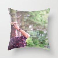 Bookish 02 Throw Pillow