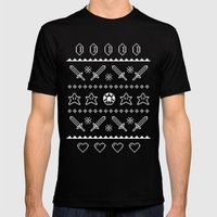 Festive Adventures In Ga… Mens Fitted Tee Black SMALL