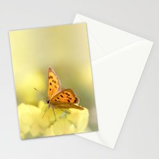 Precious Summer Gold Stationery Cards