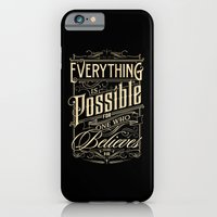 iPhone & iPod Case featuring Everything is Possible by tomekbiernat