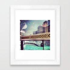 Wendella Water Taxi Framed Art Print