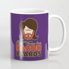 Bacon Beard (women's version) Mug