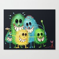 Happy Families Canvas Print