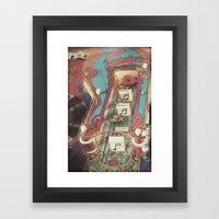 Super Star Framed Art Print
