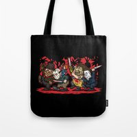 Where The Slashers Are (… Tote Bag