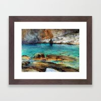 EYGENIA LOGVYNOVSKA , Sea Rocks Framed Art Print