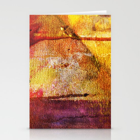 Refined by Fire Stationery Card