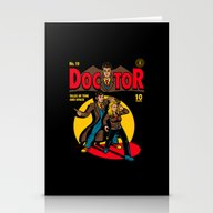 Doctor Comic Stationery Cards