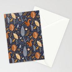 Vive l'automne !  Stationery Cards