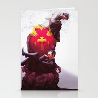 Kings of Heaven and Hell Stationery Cards