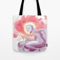 Somewhere In Space Tote Bag