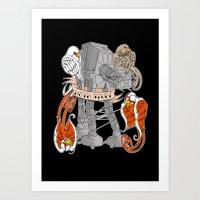 Hoth Stuff Art Print