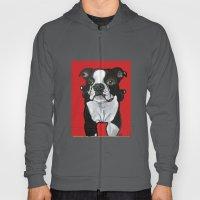 Bobo the Boston terrier Hoody