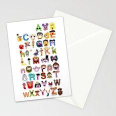 Sesame Street Alphabet Stationery Cards