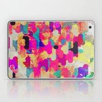 Neon Tambourine Laptop & iPad Skin