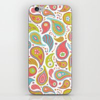 Power Paisley iPhone & iPod Skin