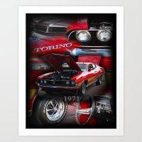 Torino GT Art Print