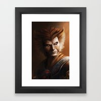 ThunderCats Collection - Tygra Framed Art Print