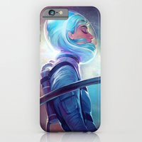 iPhone & iPod Case featuring silence by loish