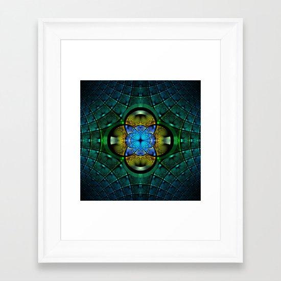 Seeking Zen Framed Art Print