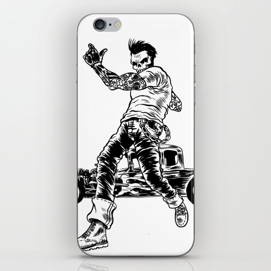 Dead Racer iPhone & iPod Skin