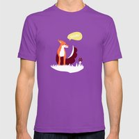 Party Animals - English … Mens Fitted Tee Ultraviolet SMALL