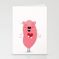 I Heart U Stationery Cards