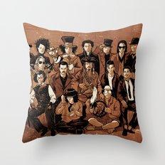 Depp Perception Throw Pillow