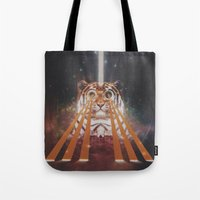 Tiger Wow Tote Bag