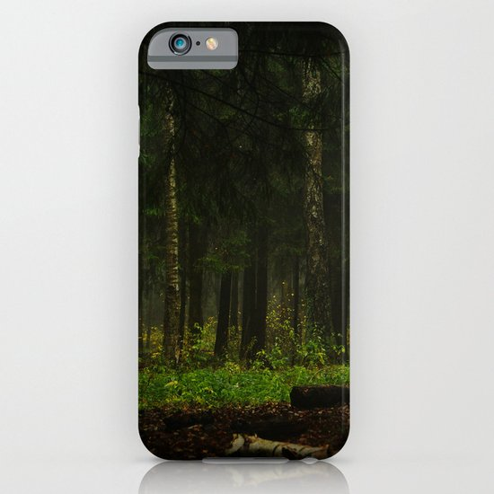 The grass was greener iPhone & iPod Case