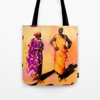 Land Of The Sahara Tote Bag