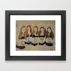 Sluts Framed Art Print