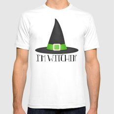 I'm Witchin' Mens Fitted Tee White SMALL