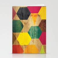 Wood Prints Stationery Cards