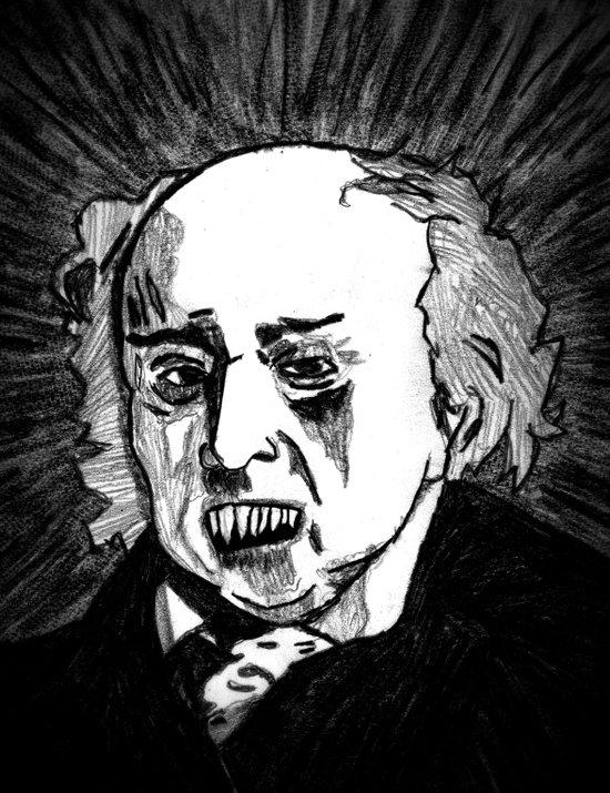 02. Zombie John Adams  Art Print