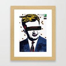 Twenty years after  Framed Art Print